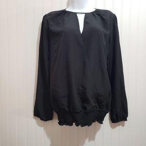 MICHAEL Michael Kors Black Blouse Size M